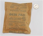 Desi-Pak 4 Unit Kraft Pouches, 500/drum