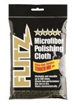 Flitz Premium Microfiber Polishing Cloth - 4 Pack