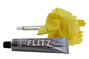 Flitz Super-Mini 2 Inch Buff Ball w/ Polish Paste