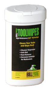 Bull Frog Tool Wipes