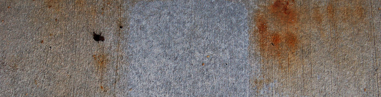 How Can I Remove Rust Stains From My Concrete Sidewalk, Driveway Or Patio?