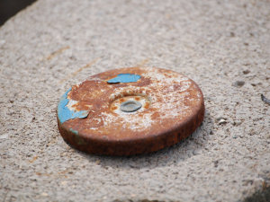 Rusty Gas Cap