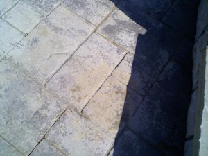 Cleaned Stone Patio