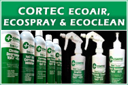 Cortec EcoAir, EcoSpray and EcoClean