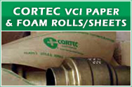 Cortec VpCI Paper and Foam Rolls/Sheets